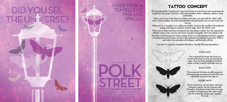 Polk Street – Swedian Lie - Graphic Designer & Theater Artist